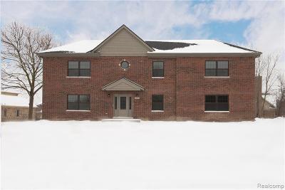 Novi Single Family Home For Sale: 51285 Nine Mile