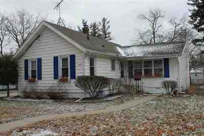 Lenawee County Single Family Home Contingent - Financing: 1027 Vine Street