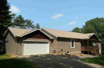 Grass Lake Single Family Home For Sale: 15982 Gorton Rd