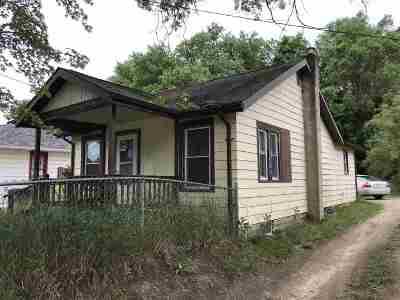 Jackson MI Single Family Home For Sale: $22,500