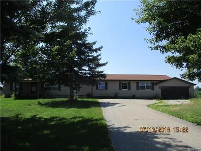 Single Family Home For Sale: 3281 Cogley Rd