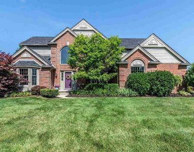 Washtenaw County Single Family Home For Sale: 4468 Augusta Ct