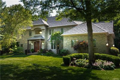 Washtenaw County Single Family Home For Sale: 11720 Floyd McFall Dr