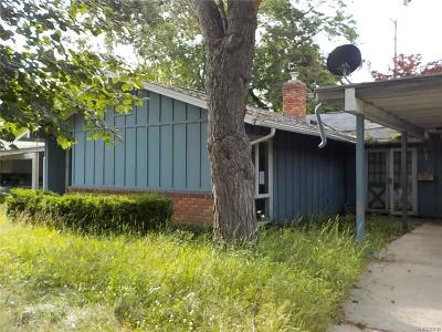 Single Family Home For Sale: 1817 Greenbriar Ln