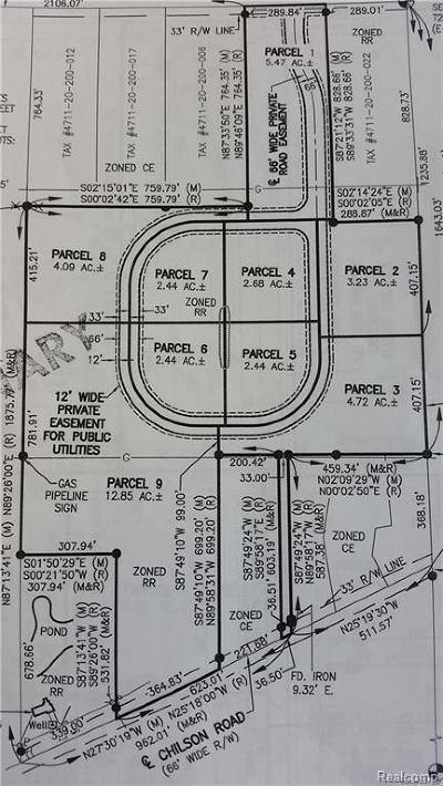Residential Lots & Land For Sale: Chilson Rd