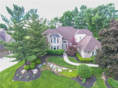 Farmington Hill Single Family Home For Sale: 37566 Cherry Hl