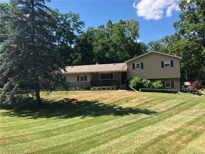 Washtenaw County Single Family Home For Sale: 6125 7 Mile Rd