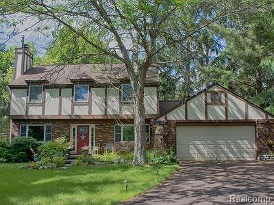 Washtenaw County Single Family Home For Sale: 1410 Judd Rd