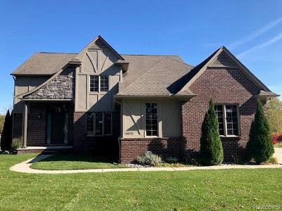 Single Family Home For Sale: 68242 Lake Angela Pointe