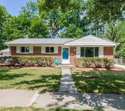 Ann Arbor Single Family Home For Sale: 773 Center Dr