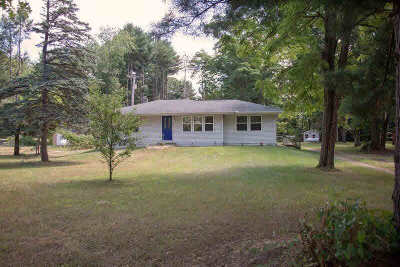 Grass Lake Single Family Home For Sale: 8477 Mount Hope Rd