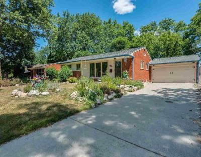 Ann Arbor Single Family Home For Sale: 1527 Granada Ave