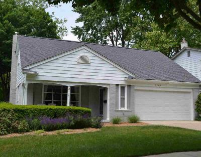 Ann Arbor Single Family Home For Sale: 1485 King George Blvd