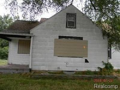 Lansing Single Family Home For Sale: 6205 S Martin Luther King Jr Blvd