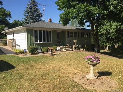 Tecumseh MI Single Family Home For Sale: $235,000