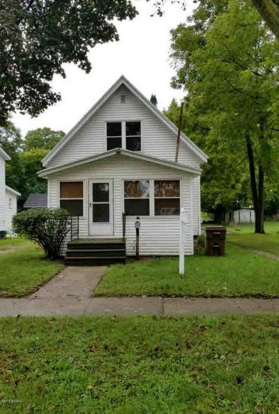 Albion Single Family Home For Sale: 809 Burr Oak St