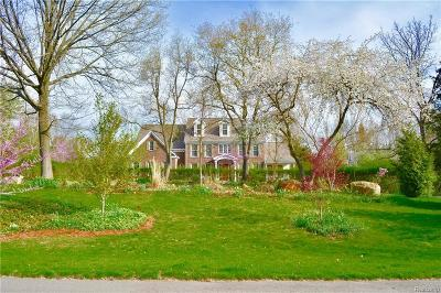 Dexter Single Family Home For Sale: 8518 Cedar Hills Dr
