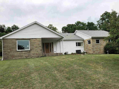 Hillsdale Single Family Home For Sale: 1341 Hudson Rd