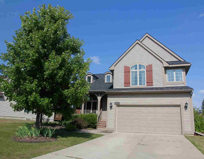 Washtenaw County Single Family Home Contingent - Financing: 6094 Gabrielle Ave
