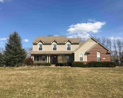 Dexter Single Family Home For Sale: 3060 Sandhill Dr