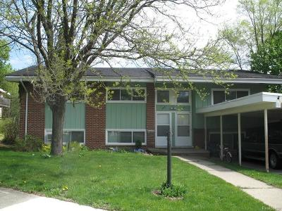 Washtenaw County Multi Family Home For Sale: 503 Ventura Crt