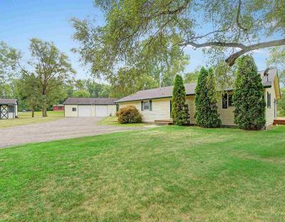 Grass Lake Single Family Home For Sale: 15605 Kilmer Rd