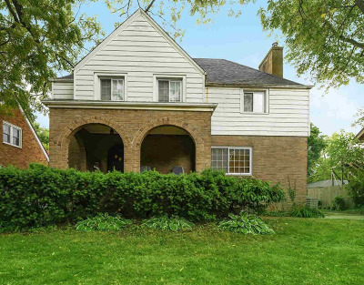 Washtenaw County Single Family Home For Sale: 1532 Packard St
