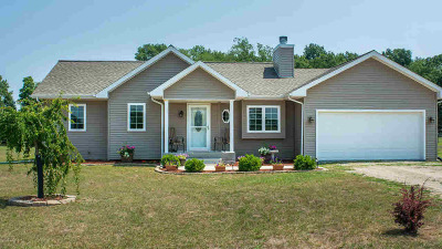 Pleasant Lake Single Family Home For Sale: 4115 E Berry Rd