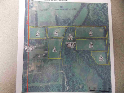 Hillsdale County Residential Lots & Land For Sale: N Bunn Rd