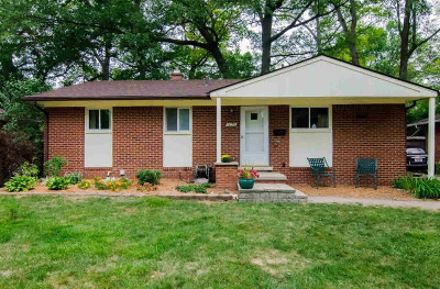 Ann Arbor Single Family Home Contingent - Financing: 1028 Western Dr