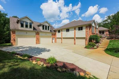 Milford Single Family Home For Sale: 1261 Pine Ridge Rd