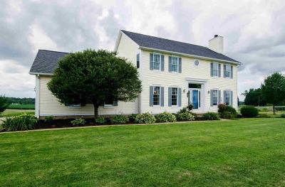 Tecumseh MI Single Family Home For Sale: $335,000