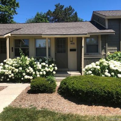 Ann Arbor Condo/Townhouse For Sale: 2263 Pittsfield Blvd