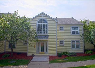 Ann Arbor Condo/Townhouse For Sale: 2213 S. Huron Pkwy
