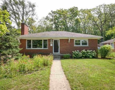 Ann Arbor Single Family Home For Sale: 1421 Woodland Dr