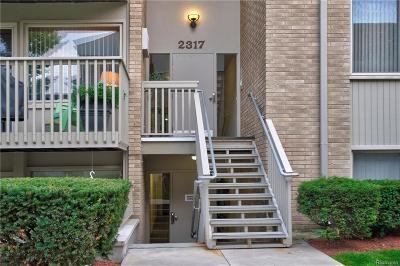 Ann Arbor Condo/Townhouse For Sale: 2317 Packard St
