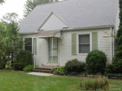 Ann Arbor Single Family Home For Sale: 2853 Bellwood Ave