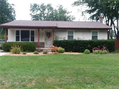 Farmington Hill Single Family Home For Sale: 33676 Stocker St