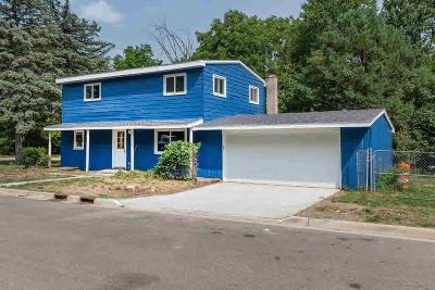 Ann Arbor Single Family Home For Sale: 3095 Nordman Rd