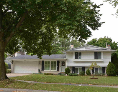 Washtenaw County Single Family Home Contingent - Financing: 2872 Page Ave
