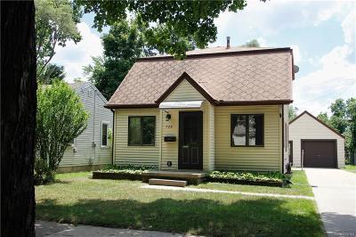 Lansing Single Family Home For Sale: 728 Maplehill Ave
