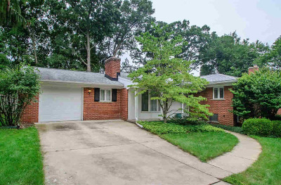 Washtenaw County Single Family Home For Sale: 2416 Essex Rd