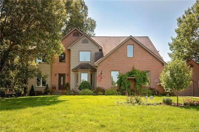 Washtenaw County Single Family Home For Sale: 13633 Orchard Crt