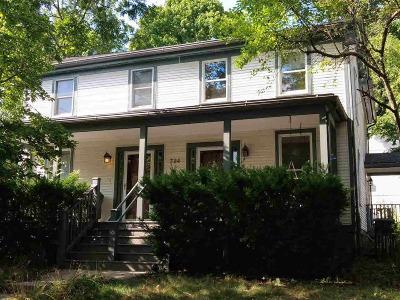 Ann Arbor Single Family Home For Sale: 724 W Washington St