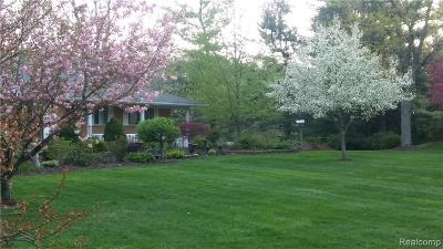 Washtenaw County Single Family Home For Sale: 5620 Textile Rd