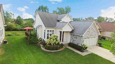 Chelsea Single Family Home For Sale: 621 Creekside Ct