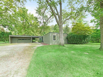 Ann Arbor Single Family Home Contingent - Financing: 2340 Hickman Rd