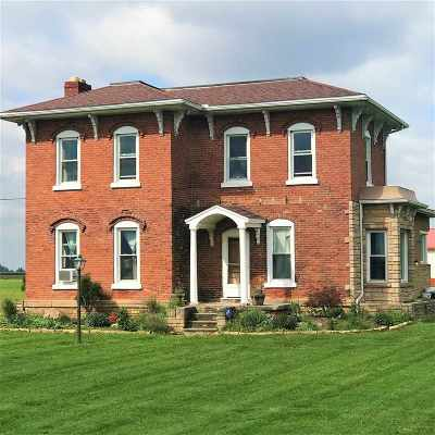 Lenawee County Single Family Home For Sale: 8948 Thompson Hwy