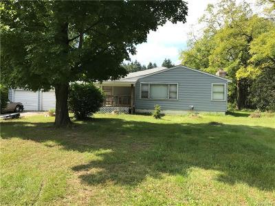 Lake Orion Single Family Home For Sale: 2796 S Baldwin Rd