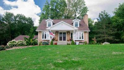 Grass Lake Single Family Home For Sale: 4710 Jacob Rd